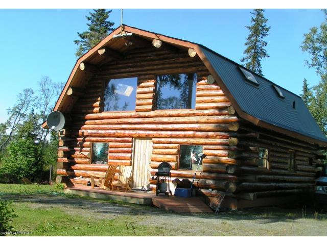 Homer Alaska Real Estate Anchor Point Alaska Log Cabin